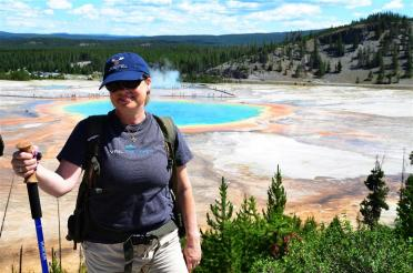 Kathy and Grand Prismatic