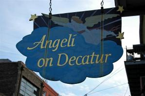 Angeli on Decatur (sign)