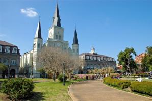 St. Louis Cathedral and Jackson Square