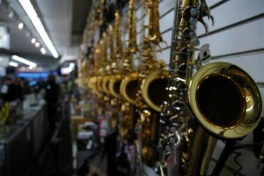 Wall of sax