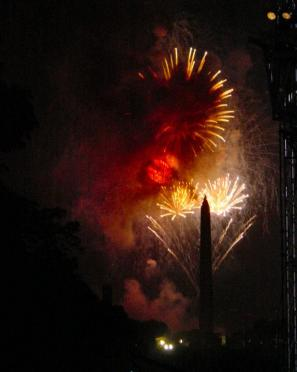 Fireworks - grand finale